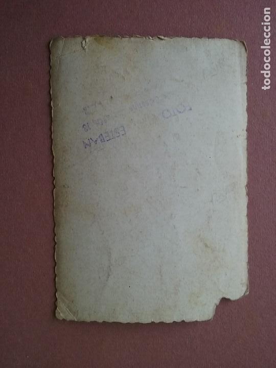 Fotografía antigua: ANTIGUA FOTOGRAFIA HOMBRES JOVENES. FOTO HERMANOS ESTEBAN. MOREDA. ALLER. ASTURIAS. AÑOS 50. - Foto 2 - 75613767