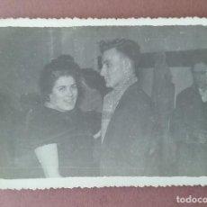 Fotografía antigua: ANTIGUA FOTOGRAFIA PAREJA EN EL BAILE. MIERES ALLER ?. ASTURIAS. AÑOS 50 - 60.. Lote 75635403