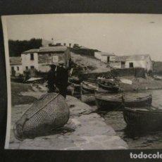 Fotografía antigua: FOTOGRAFIA ANTIGUA CADAQUES - VER FOTOS - (V-8981). Lote 75643535