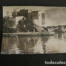 Fotografía antigua: FOTOGRAFIA ANTIGUA CADAQUES - VER FOTOS - (V-8982). Lote 75643595