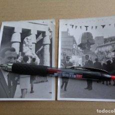 Fotografía antigua: 2 FOTOS FALLA CONVENTO JERUSALEN - 1966 - FALLAS VALENCIA - FOTOGRAFIA ORIGINAL. Lote 75677555