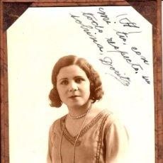 Fotografía antigua: RETRATO ESTUDIO, PRECIOSA CARPETILLA CARTÓN, BUENOS AIRES 1929 XCELENTE CALIDAD Y CONSERVACIÓN - CLC. Lote 76003095