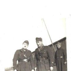 Fotografía antigua: MILITARES FRANCESES. 1939. Lote 76956545