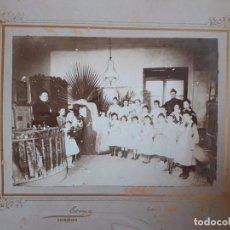Fotografía antigua: FOTOGRAFÍA GRAN FORMATO / ESCOLAR / FOTÓGRAFO ESTRANY MATARÓ / 22 X 16 CM . Lote 77091401