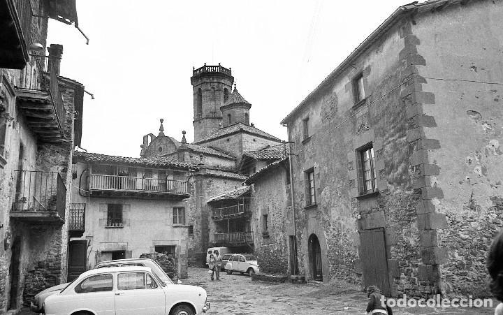 FOTOS DE RUPIT (1),SANTA PAU (2) Y SANT ESTEVE D'EN BAS (1),1972, OSONA, GARROTXA, NEGATIVOS 24X36MM (Fotografía - Artística)