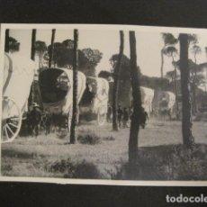 Fotografía antigua: SEVILLA - FERIA ROMERIA -FOTOGRAFIA SERRANO -VER FOTOS-(V- 9526). Lote 78645773