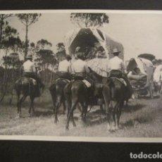 Fotografía antigua: SEVILLA - FERIA ROMERIA -FOTOGRAFIA SERRANO -VER FOTOS-(V- 9527). Lote 78646065