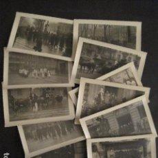 Fotografía antigua: LOTE 11 FOTOGRAFIAS ENTIERRO ALGUIEN IMPORTANTE EN BARCELONA-SUAREZ REPORTER -VER FOTOS-(V-9536). Lote 78894921
