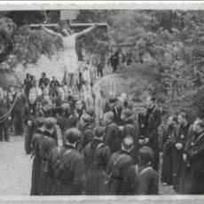 Fotografía antigua: F- 3100. FOTOGRAFA DE PROCESION RELIGIOSA. FOTO RAMIREZ, BARCELONA.. Lote 78978585