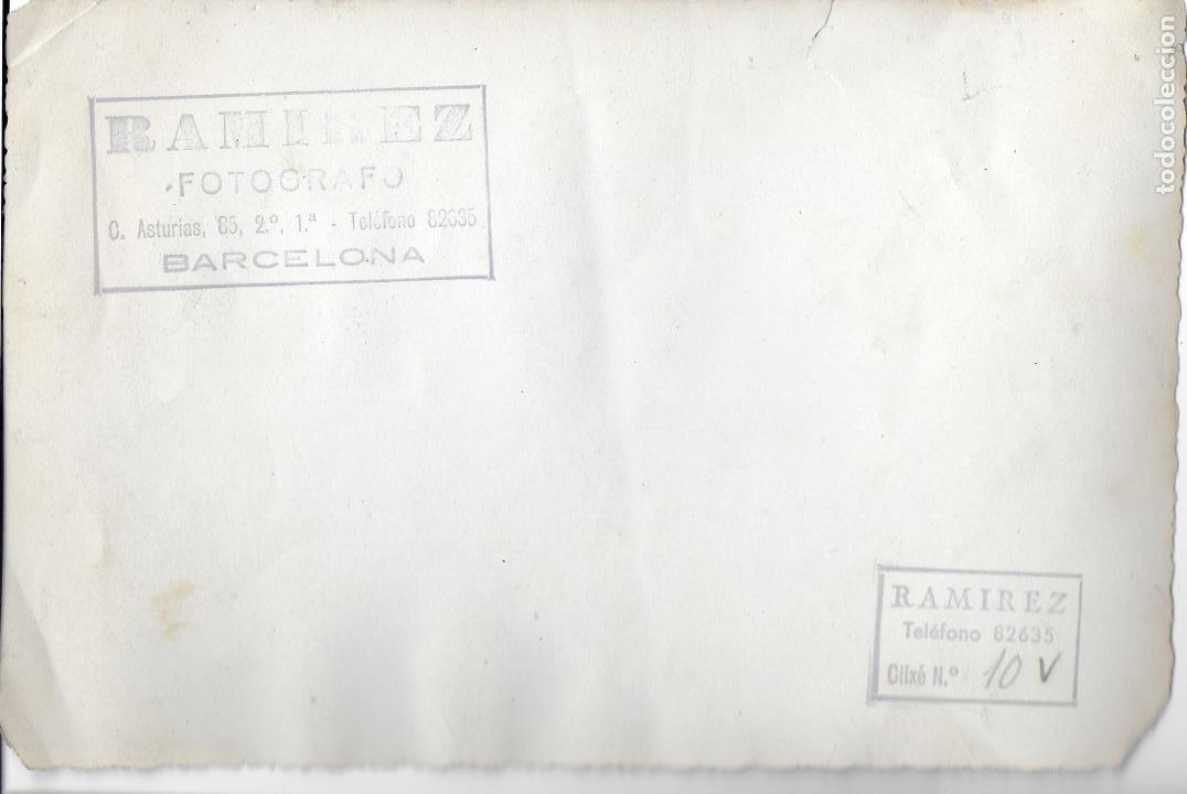 Fotografía antigua: F- 3100. FOTOGRAFA DE PROCESION RELIGIOSA. FOTO RAMIREZ, BARCELONA. - Foto 2 - 78978585