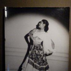Fotografía antigua: ANTIGUA FOTOGRAFIA ORIGINAL - FLAMENCA LINA - FAMOSOS BAILARINES LINA Y MIGUEL - TAMAÑO 18 X 24 CM. Lote 79231325