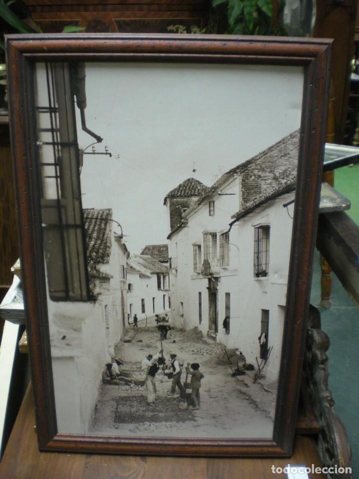 fotografía en blanco y negro con marco de mader - Comprar Fotografía ...