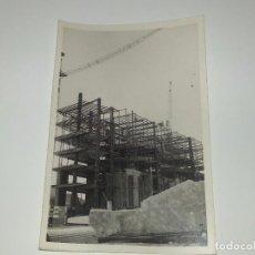 Fotografía antigua: ANTIGUA FOTOGRAFÍA CONSTRUCCION DEL EDIFICIO REPRESENTANTES ALICANTE AÑOS 60 ORIGINAL. Lote 80173561