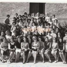 Fotografía antigua - Fotografía. Grupo de mujeres. Cursillo número 40, Moncada, Valencia. Años 60. - 80626974