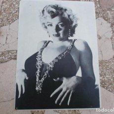 Fotografía antigua: MARILYN MONROE, FOTO ARTISTICA Nº 53 M.M MANOS CINTURA, PRODECO, HA ESTADO CLAVADO,18X25. Lote 80810855
