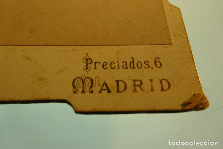 Fotografía antigua: FOTOGRAFÍA RETRATO DE CABALLERO CON BARBA - ESTUDIO FOTO ARTÍSTICO - PRECIADOS, 6 - MADRID - - Foto 4 - 80831519