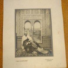 Fotografía antigua: FOTOGRAFIA SOUVENIR THE OLD CURIOSITY SHOP ALHAMBRA GRANADA. PAREJA MORA.. Lote 80920404