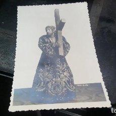 Fotografía antigua: CARTAGENA, NUESTRO PADRE JESUS NAZARENO, FOTOGRAFIA MATRAN, 17,5 X 11,5 CM.. Lote 81076576