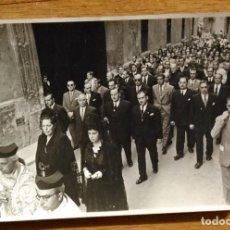 Fotografía antigua: PROCESION RELIGIOSA - VALENCIA - FOTO: CABRELLES SIGÜENZA. Lote 81262216