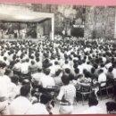 Fotografía antigua: EUSKADI PAÍS VASCO FIESTA EUSKARA CONCURSO TRIKITILARIS E IRRINTXILARIS 1960. Lote 82068880