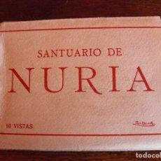 Fotografía antigua: SANTUARIAO DE NÚRIA - 10 VISTAS MINIATURA- TALLERES DE FOTOGRAFÍA A. ZERKOWITZ.. Lote 82185612