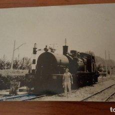 Fotografía antigua: LOCOMOTORA. Lote 82200024