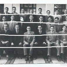 Fotografía antigua: COL.H.H. MARISTAS. MURCIA. ENTRE LOS ALUMNOS D.JUAN LUÍS BERMEJO Y EL PINTOR D.JOSE MARÍA FALGAS. BO. Lote 83028624