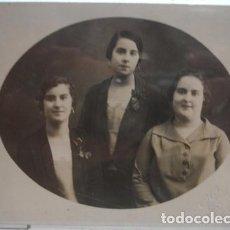Fotografía antigua: RETRATO DE MUJERES L. CASANOVAS PALAFRUGELL - PORTAL DEL COL·LECCIONISTA*****. Lote 83294508