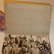 Fotografía antigua: ANTIGUA FOTOGRAFIA DE ENTIERRO DE 1944. Lote 84140680