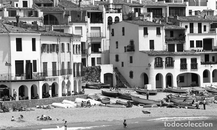 Fotografía antigua: 18 fotos (17 negativos 24x36 mm y 1 de 55x55mm) de Calella de Palafrugell, 1979. Empordà, Girona - Foto 2 - 85435748