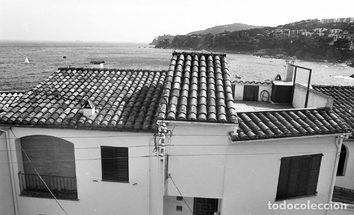 Fotografía antigua: 18 fotos (17 negativos 24x36 mm y 1 de 55x55mm) de Calella de Palafrugell, 1979. Empordà, Girona - Foto 13 - 85435748