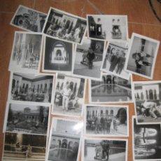 Fotografía antigua: LOTE 24 FOTOS FOTOGRAFIAS ANTIGUAS GRANADA PATIO LEONES VER FOTOS !!!!!!!. Lote 85688028