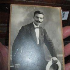 Fotografía antigua: JOSE SERRANO FOTO TARJETA POSTAL EN CARTON ALICANTE ESTUDIO SANCHEZ ALICANTE. Lote 86322992