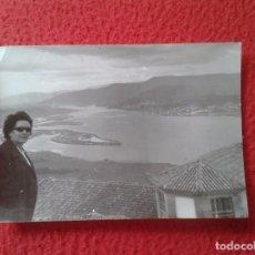 Fotografía antigua: FOTO FOTOGRAFÍA OLD PHOTO SANTA TECLA RIO MIÑO (SEGÚN REVERSO) FRONTERA ESPAÑA CON PORTUGAL VER IMAG. Lote 86341592