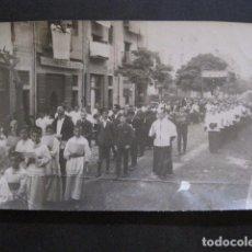 Fotografía antigua: GERONA-GIRONA -PROCESION CORPUS PARROQUIA MERCADAL - FOT. J. ROCA -VER FOTOS - (V-11.009). Lote 86567648