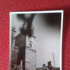 Fotografía antigua: ANTIGUA FOTO FOTOGRAFÍA PHOTO PONTEVEDRA SEGÚN REVERSO, GALICIA, TORRE ? IGLESIA ? A IDENTIFICAR VE. Lote 86849972