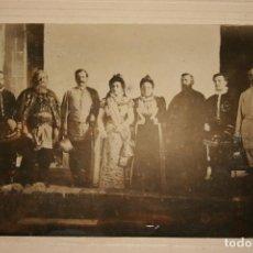 Fotografía antigua: ANTIGUA FOTOGRAFÍA DE UN GRUPO DE TEATRO. PODRÍA SER ALBACETE, AÑOS 20. MIDE 17 X 12 CMS. Lote 87192420