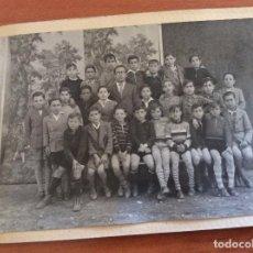 Photographie ancienne: FOTO RECUERDO DEL COLEGIO.. Lote 87575316