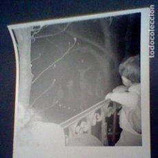 Fotografía antigua: FOTOGRAFIA PARTICULAR PROCESION SILENCIO CRISTO AÑOS 60 ESCORIAL . Lote 87625240