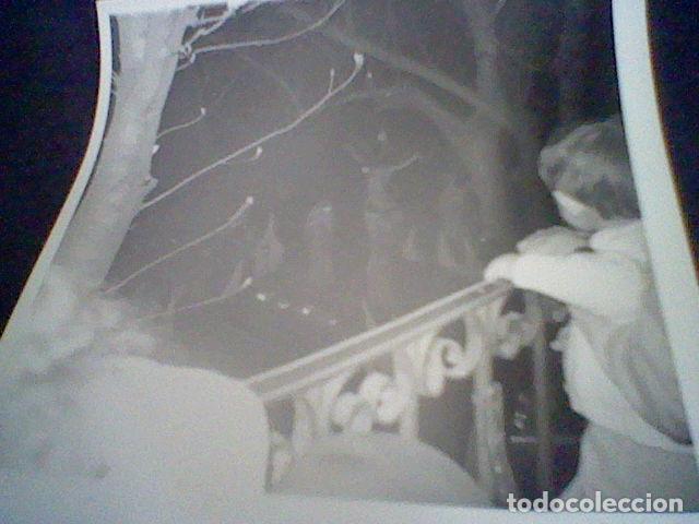 Fotografía antigua: FOTOGRAFIA PARTICULAR PROCESION SILENCIO CRISTO AÑOS 60 ESCORIAL - Foto 2 - 87625240