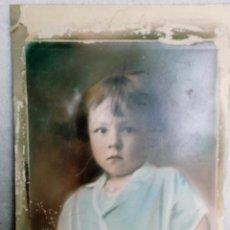 Fotografía antigua: RETRATO INFANTIL. Lote 88836408