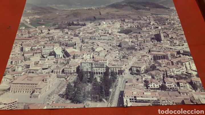 FOTO AÉREA A3 AÑOS 70 OLOT (GIRONA) (Fotografía - Artística)