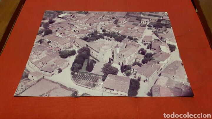 FOTO AÉREA AÑOS 70 IGLESIA Y TORRE DE VULPELLAC ( GIRONA) (Fotografía - Artística)