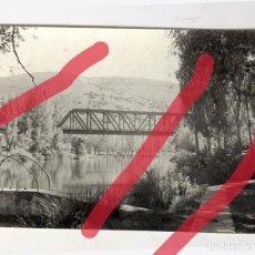 Fotografía antigua: SORIA FERROCARRIL TREN RENFE. ANTIGUA FOTOGRAFIA ORIGINAL, 10 X 7 CM .1967. Lote 89218492