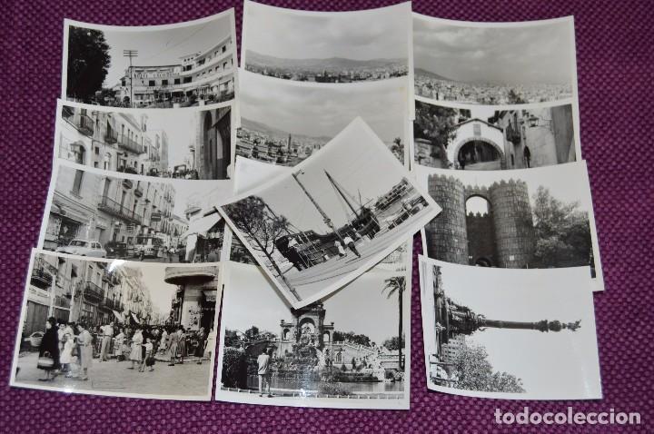 LOTE DE 13 FOTOGRAFÍAS ANTIGUAS - ZONA DE BARCELONA - AÑOS 50 / 60 - HAZME OFERTA (Fotografía - Artística)