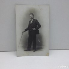 Fotografía antigua: FOTOGRAFIA, RETRATO FOTOGRAFO FRANCISCO AMER BARCELONA PRINCIPIOS DE 1900. Lote 89664772