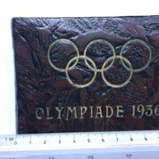 Fotografía antigua: ÁLBUM 50 FOTOS OLIMPIADAS BERLIN 1936. OLIMPIA DE 1936. Lote 90186383