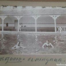 Fotografía antigua: MADRID,FOTO AÑOS VEINTE,PISCINA NIÁGARA, ORIGINAL,RARA. Lote 90211091