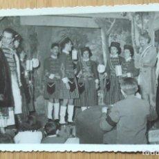 Fotografía antigua: LA GENERALA INTERPRETADA EN SANTO ANGEL CUSTODIO DE VALENCIA - LOTE 3 FOTOS. Lote 90257892