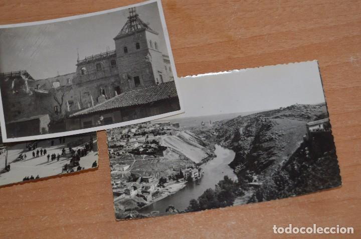 Fotografía antigua: LOTE DE 3 FOTOS ANTIGUAS ORIGINALES TOLEDO - ALCAZAR - DIFERENTES EPOCAS - 1939 a 1960 - HAZ OFERTA - Foto 3 - 90297144